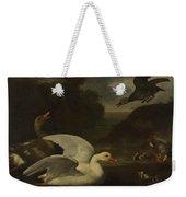 Geese And Ducks Weekender Tote Bag