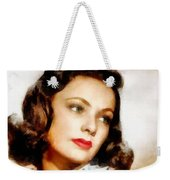 Gene Tierney Hollywood Actress Weekender Tote Bag
