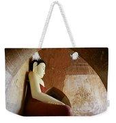 Geometric Buddha Weekender Tote Bag
