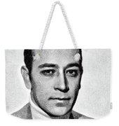 George Raft, Vintage Actor By Js Weekender Tote Bag