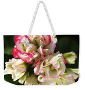Geranium Flowers Weekender Tote Bag