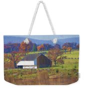 Gettysburg Barn Weekender Tote Bag by Bill Cannon