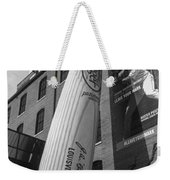 Giant Baseball Bat Adorns Weekender Tote Bag