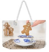 Gingerbread In Teacup Weekender Tote Bag