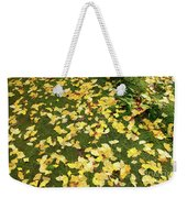 Ginkgo Biloba Leaves Weekender Tote Bag