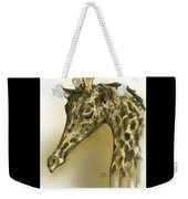 Giraffe Contemplation Weekender Tote Bag