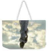 Girl And The Sky Weekender Tote Bag by Joana Kruse