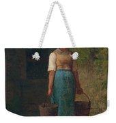 Girl Carrying Water Weekender Tote Bag