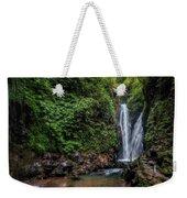 Git Git Waterfall - Bali Weekender Tote Bag