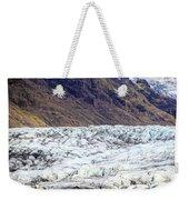 Glacier Lagoon Weekender Tote Bag