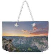 Glacier Point Sunset  Weekender Tote Bag