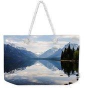 Glacier Reflections Weekender Tote Bag