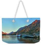 Glacier Two Medicine Sunrise  Weekender Tote Bag