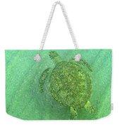 Gliding Green  Weekender Tote Bag