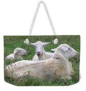 Goat Family Weekender Tote Bag