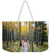 Goddess Walk Weekender Tote Bag