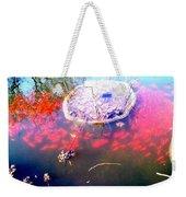 Gold Fish Pond Weekender Tote Bag