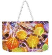 Golden Autumn Weekender Tote Bag