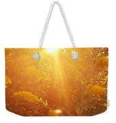 Golden Days Of Autumn Weekender Tote Bag