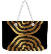 Golden Waves Hightide Natures Abstract Colorful Signature Navinjoshi Fineartartamerica Pixels Weekender Tote Bag
