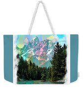 Grand Tetons From The Snake River Weekender Tote Bag