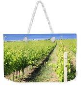Grapevines In A Vineyard Weekender Tote Bag