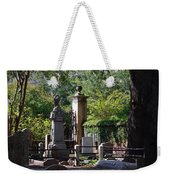 Graveyard In Charleston Weekender Tote Bag