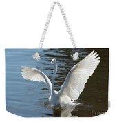 Great Egret Wings Weekender Tote Bag