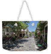 Greek Village Plaza Weekender Tote Bag