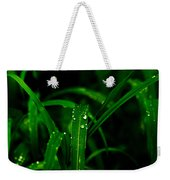 Green Grass  Weekender Tote Bag