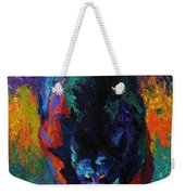Grounded - Black Bear Weekender Tote Bag