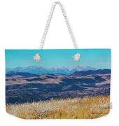 Grouse Mountain And Sangre De Cristo Weekender Tote Bag
