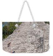 Grupo Nohoch Mul At The Coba Ruins  Weekender Tote Bag