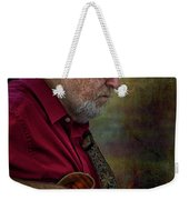 Guitar Picker In The Park On Sunday Weekender Tote Bag