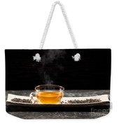 Gunpowder Green Tea In Glass Teapot Weekender Tote Bag