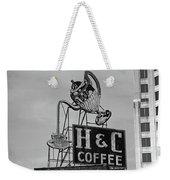 H C Coffee Weekender Tote Bag