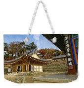 Haeinsa Buddhist Temple Weekender Tote Bag