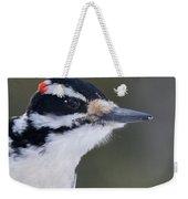 Hairy Woodpecker Male Weekender Tote Bag