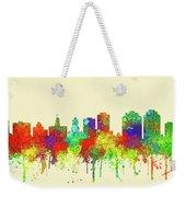 Halifax N.s.skyline Weekender Tote Bag