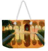Hall Of The Ambassadors -  Alhambra Granada Weekender Tote Bag