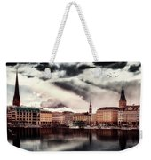 Hamburg At Dusk Weekender Tote Bag