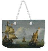 Hans Goderis Dutch Shipping At Sea, 1615 Weekender Tote Bag