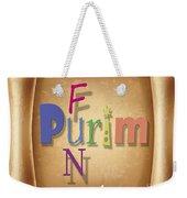 Happy Joyous Purim  Weekender Tote Bag