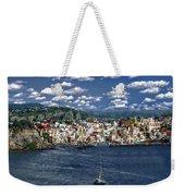 Harbor In Corricella Weekender Tote Bag