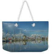 Harbor Morning Weekender Tote Bag