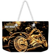 Harley-davidson Weekender Tote Bag by Aaron Berg