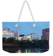 Hartford Skyline Panorama Weekender Tote Bag