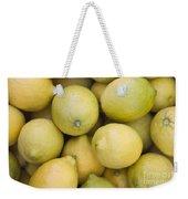 Harvested Lemons Weekender Tote Bag