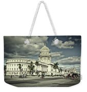 Havana National Capitol Weekender Tote Bag