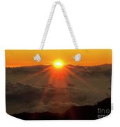 Hawaiian Sunrise Weekender Tote Bag
